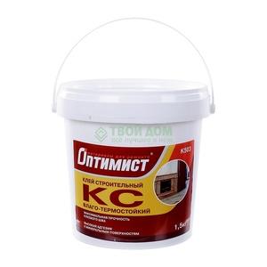 Клей КС строительный Оптимист К503 универсальный (1,5 кг)