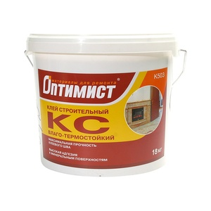 Клей КС строительный Оптимист К503 универсальный (18 кг)