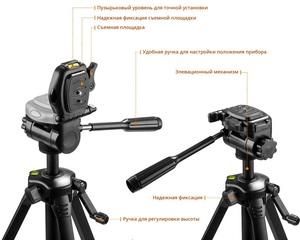 Нивелир лазерный KRAFTOOL LL-3D #3 3х360° 20м/70м IP54 точн. +/-02 мм / м штатив в сумке