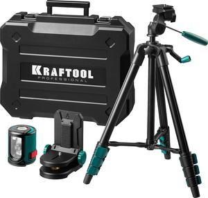 Нивелир лазерный KRAFTOOL CL 20 #4 20 м IP54 точн. +/-02 мм / м держатель штатив в кейcе
