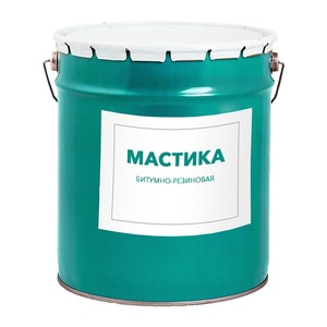 Мастика битумно-резиновая, 18 л