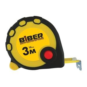 Рулетка Biber 40091 Standart 3 м/16 мм
