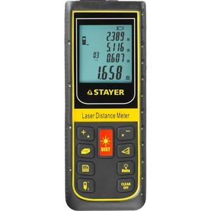 Дальномер PRO-Control лазерный дальность 100 м точность 2 мм STAYER Professional 34959