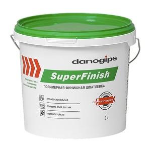 Шпаклевка Danogips СуперФиниш, готовая, 5 кг