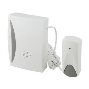 Звонок проводной, с кнопкой, батарейка 2х1,5В/АА, 25 мелодий, IP30