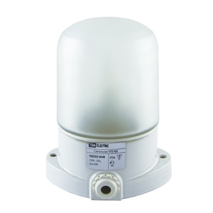 Светильник НПБ 400 д/сауны, 125С, Е27, 60/40Вт, 230В, керамика