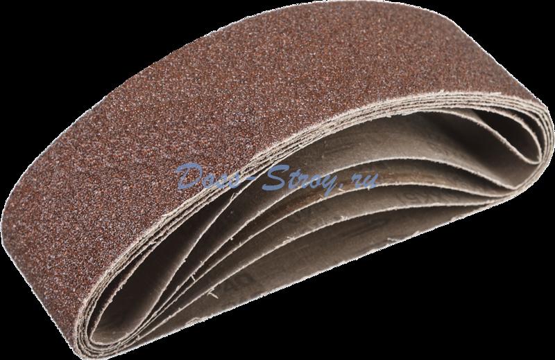 Лента шлифовальная бесконечная на тканевой основе ЗУБР СТАНДАРТ для ЛШМ P40 75х533 мм 5 шт