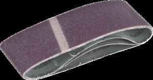 Лента шлифовальная бесконечная на тканевой основе ЗУБР МАСТЕР для ЛШМ P40 75х533 мм 3шт