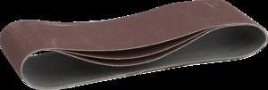 Лента шлифовальная бесконечная на тканевой основе ЗУБР МАСТЕР для ЛШМ P150 100х610 мм 3шт