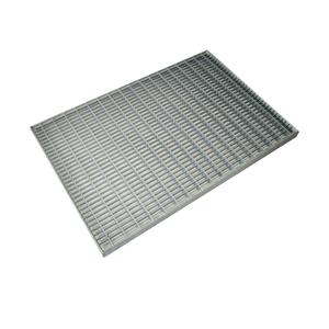 Решетка для поддона придверного Standartpark, 590х390 мм, стальная