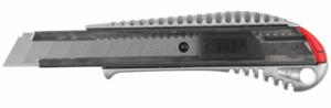 Металлический нож ЗУБР Профессионал с автостопом ПРО-18А 18 мм