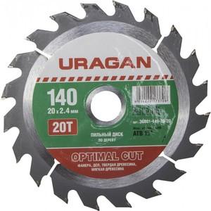 Диск пильный по дереву URAGAN Optimal cut