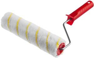 Валик малярный MIRAX POLYTEX Pro 240 мм d=48 мм ворс 12 мм ручка d=8 мм