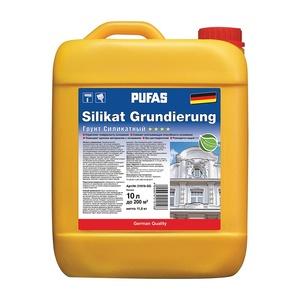 Грунт силикатный укрепляющий Pufas SILIKAT GRUNDIERUNG (10 л)