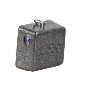 """Замок навесной ЗУБР """"МАСТЕР"""" повышен. защищ., дисковый механизм секрета, ключ 7 PIN, 85 х80 мм"""