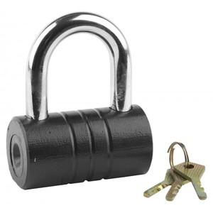 """Замок ЗУБР """"МАСТЕР"""" навесной, повышен. защищен., дисковый механизм секрета, ключ 7 """"пинов"""", 82 x 46 мм"""