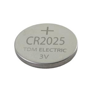Элемент питания литиевый, тип CR2025, дисковый (таблетка), 3В, 160мА*ч