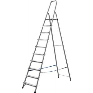 Лестница-стремянка СИБИН алюминиевая 10 ступеней 208 см