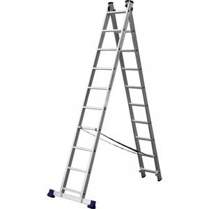 Лестница СИБИН универсальная двухсекционная