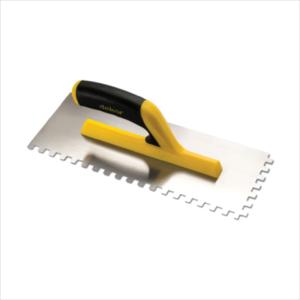 Полутер зубчатый DEKOR 120х300 мм квадратный зуб 6х6 мм пластиковая открытая ручка