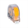 Рулетка прозрачная DEKOR 8 м х 25 мм корпус из ударопрочного эргономичного пластика
