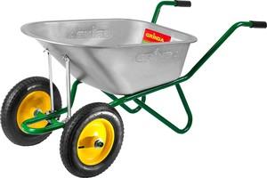 Тачка садово-строительная двухколесная 180 кг GRINDA