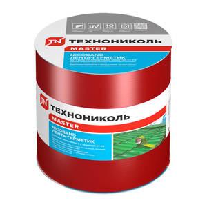 Лента-герметик самоклеящаяся Технониколь Никобенд, красный, 10х1000 см