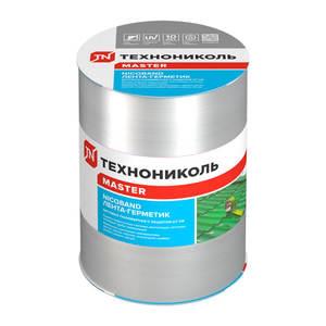 Лента-герметик самоклеящаяся Технониколь Никобенд, серебристый, 15х1000 см