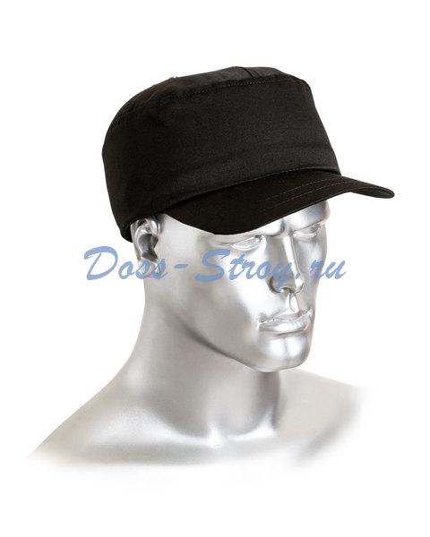 Каскетка бейсболка защитная черная