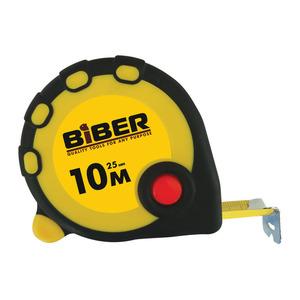 Рулетка Biber Standart 10 м 25 мм
