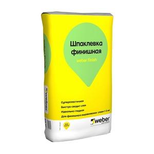 Шпаклевка финишная Weber Vetonit Финиш, белая, 25 кг
