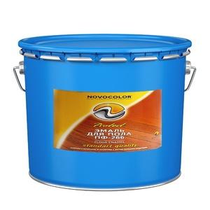 Эмаль для пола ПФ-266 жёлто-коричневая (20 кг)