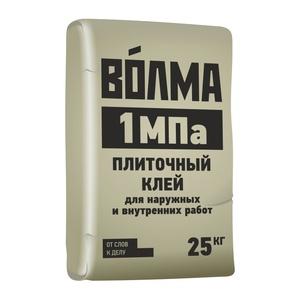 Клей для плитки Волма 1 МПа, 25 кг