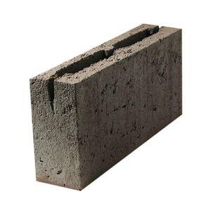 Блок керамзитобетонный пустотелый ПКЦ, перегородочный, 390х90х188 мм