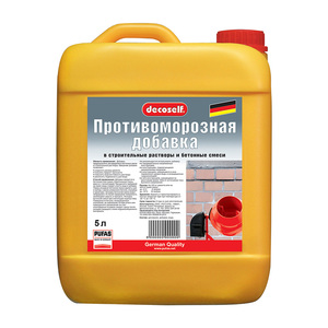 Противоморозная добавка для бетона Pufas до -10С, 5 л = 5,45 кг