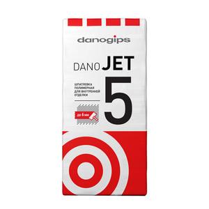 Финишная полимерная шпаклевка Danogips Dano Jet 5, 25 кг