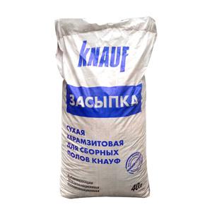 Засыпка сухая керамзитовая для пола Knauf, 40 л