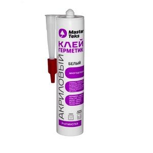 Клей-Герметик акрил. многоцелевой MasterTeks ProfiMaster, белый (0,29 мл)