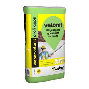 Штукатурка гипсовая Weber Vetonit Профи Гипс, 30 кг