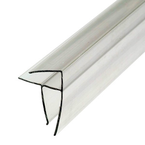 Профиль угловой для поликарбоната 4-6х6000 мм б/цв.