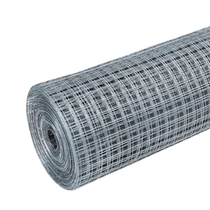 Сетка штукатурная сварная, 10х10 мм, d=0,6-0,7 мм, рул. 1х15 м, оцинк.