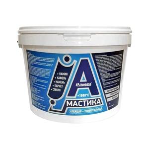 Мастика универсальная клеящая жаростойкая Альмира (4 кг)
