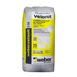 Ремсостав цементный Weber Vetonit S06, 25 кг