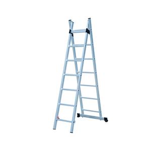 Лестница универсальная Biber 2-х секционная 9 ступеней