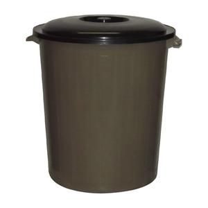 Бак для мусора круглый с крышкой 50 л