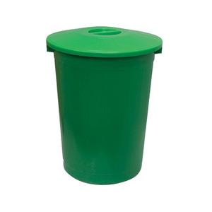 Бак для мусора круглый с крышкой 70 л