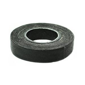 Изолента прорезиненная Бибер 92013 х/б черная 110 г
