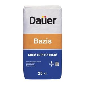 Клей базовый для плитки и укладки керамогранита на пол Дауэр Базис, 25 кг