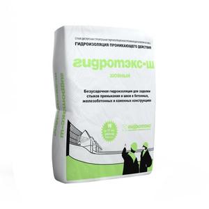 Гидроизоляция шовная проникающая Гидротэкс-Ш, 25 кг
