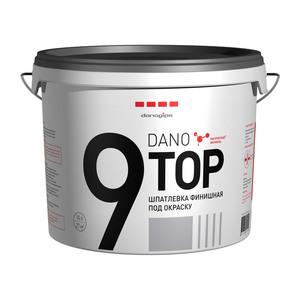 Финишная готовая полимерная шпаклевка Danogips Dano Top 9, 10 л